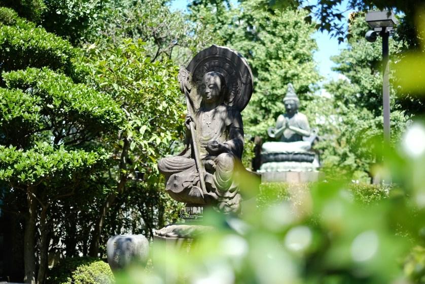 Buddha Statue near Sensoji Temple at Asakusa Tokyo by Myfunfoodiary