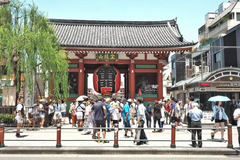 Kaminarimon Kaminari Gate at Asakusa Tokyo by Myfunfoodiary