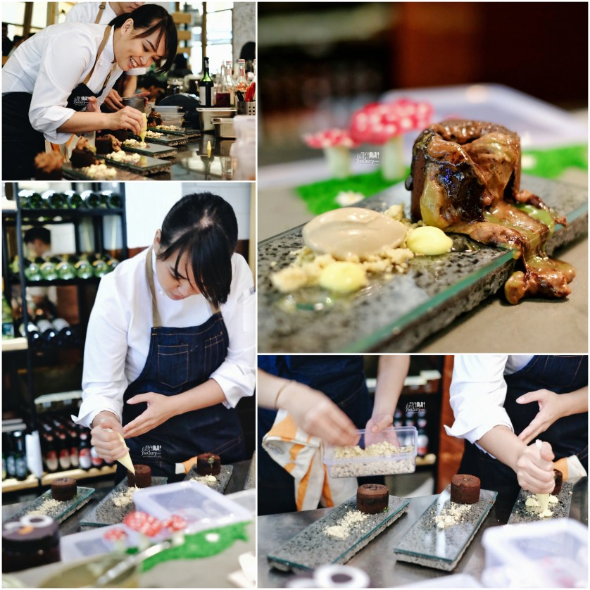 Kim Pangestu in action at Nomz - by Myfunfoodiary