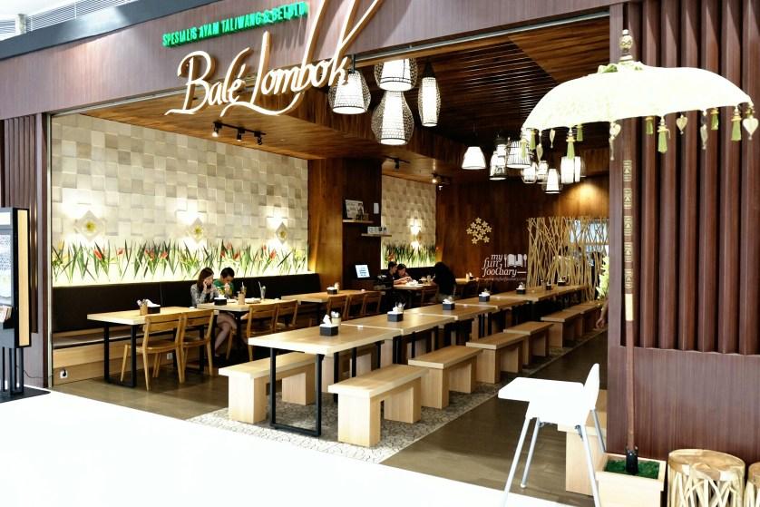 Tampak Depan Bale Lombok Lippo Mall Puri by Myfunfoodiary