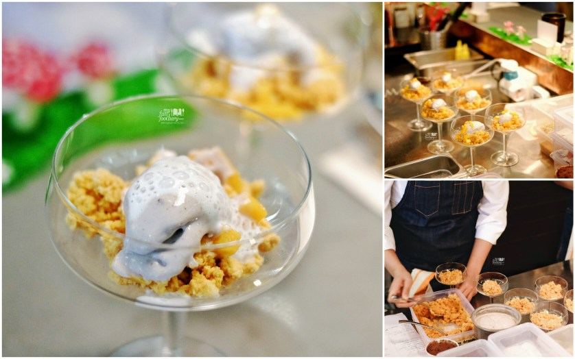 Thai Tea Mango Sticky Rice Ice Cream Dessert Omakase by Kim at Nomz - by Myfunfoodiary