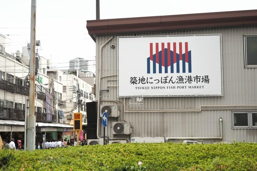Tsukiji Fish Market Signboard by Myfunfoodiary