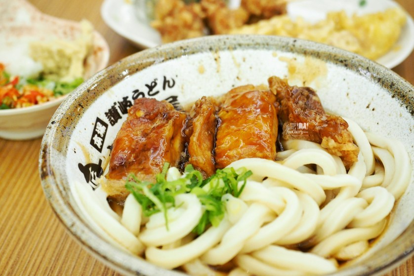 Chicken Teriyaki Udon at Tamoya Udon by Myfunfoodiary