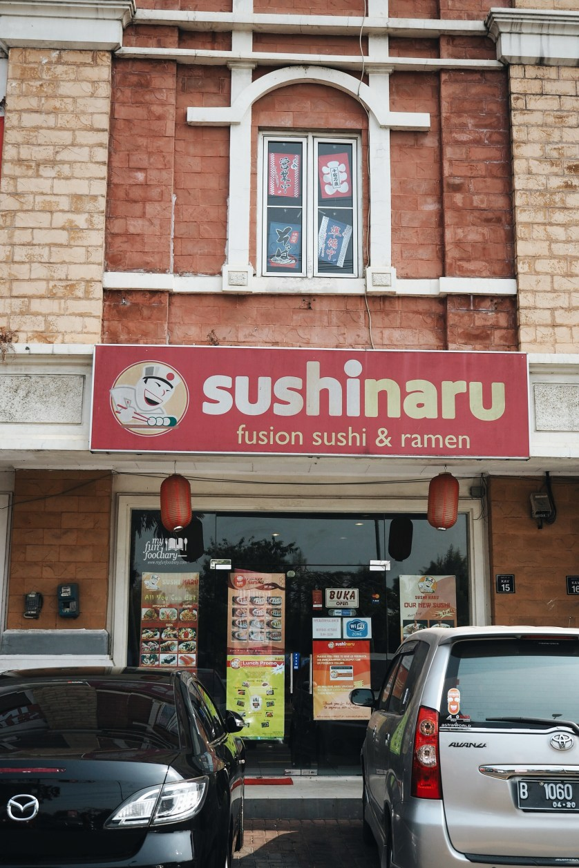 Exterior Sushi Naru by Myfunfoodiary