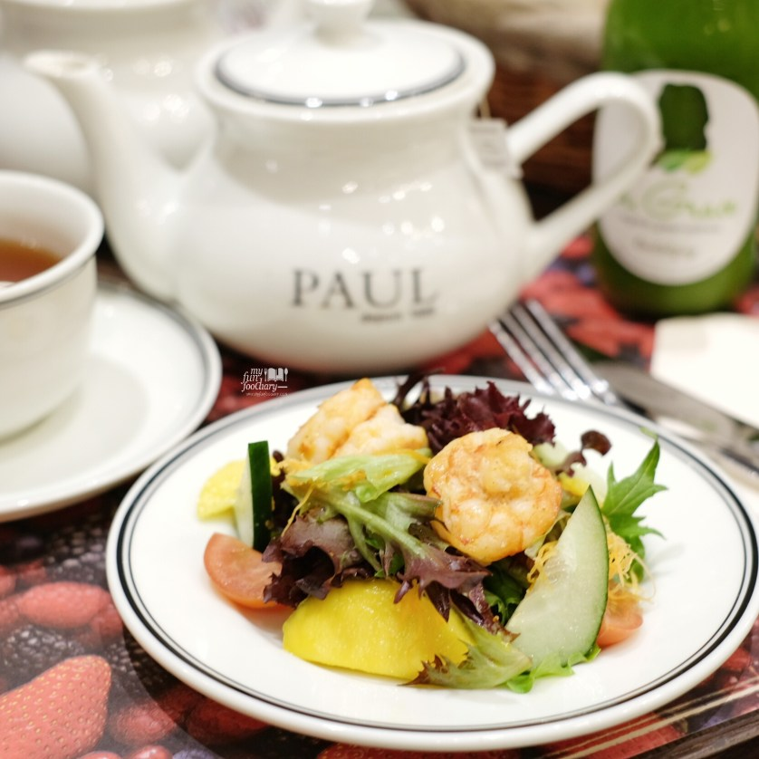 Prawn Salad at PAUL Indonesia