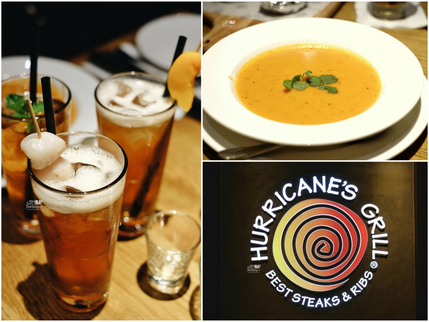 Soup and Iced Lychee Tea at Hurricane Grill Indonesia by Myfunfoodiary