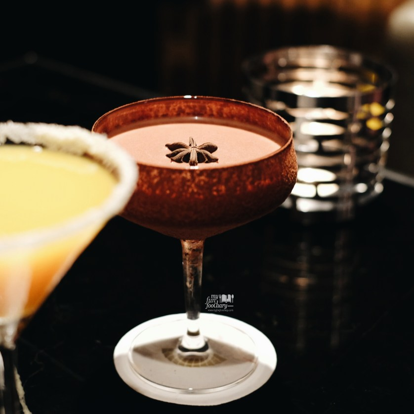 Spiced Rum Chocolate Martini at MO Bar