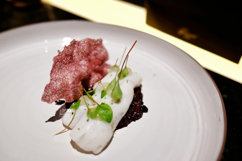 Young Squid and Forbidden Rice at The View Gastro Bar by Myfunfoodiary