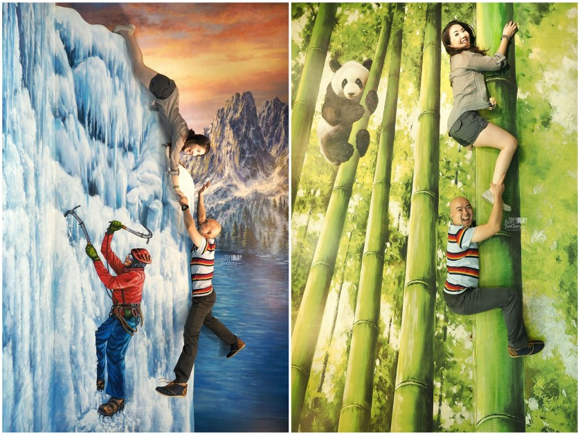 Ice Cliff Climbing + Bamboo at Trick Eye Museum by Myfunfoodiary