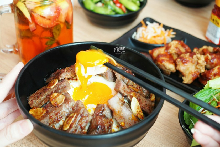 Japanese Steak Donburi at Negiya Donburi by Myfunfoodiary