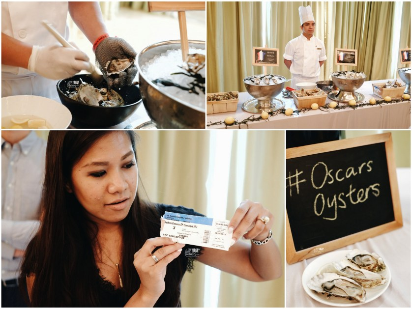 Knowledge about France Oysters at Conrad Singapore by Myfunfoodiary