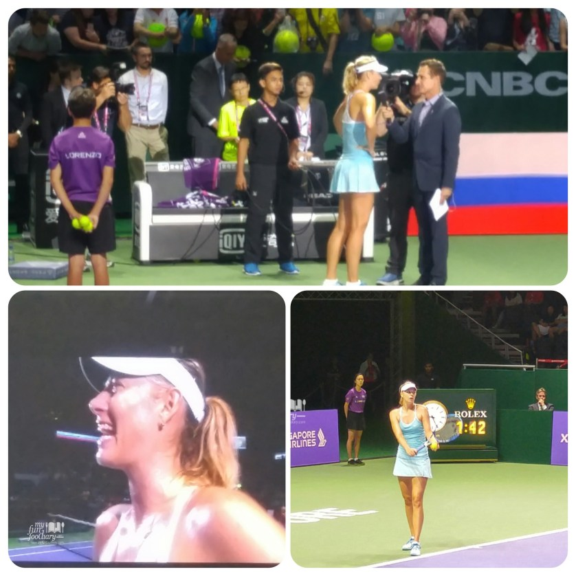 Maria Sharapova Won Against Agniezka Radwanska by Myfunfoodiary