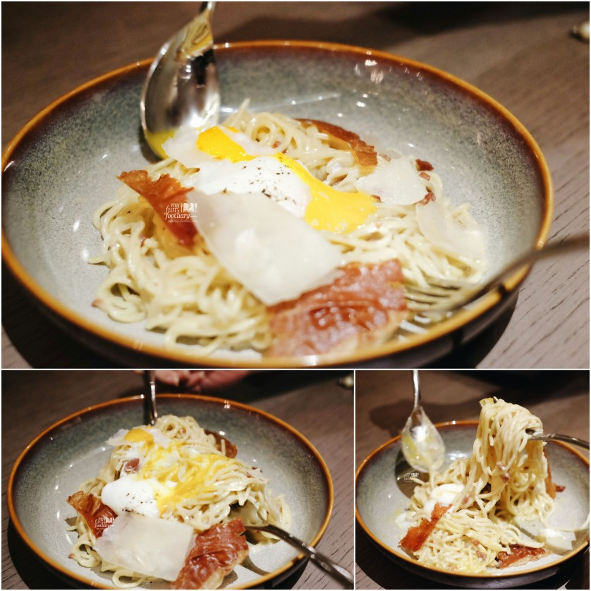 Truffle Carbonara Pasta at Socieaty Plaza Indonesia by Myfunfoodiary 02