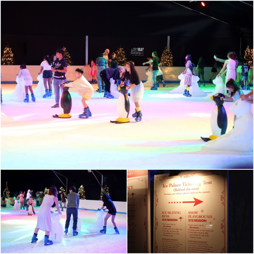Ice Skating and Snow Playground at Christmas Wonderland - Gardens By The Bay by Myfunfoodiary