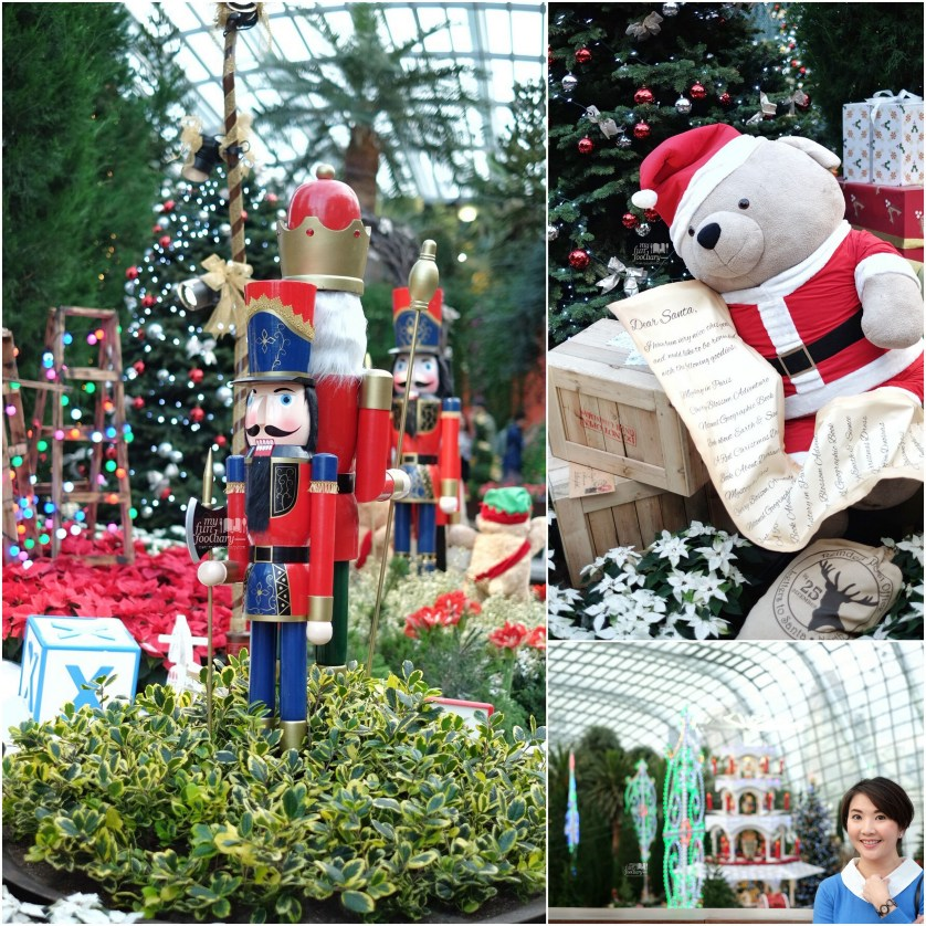 Nutcrackers and Santa Bear for Christmas Toyland at Gardens By The Bay 2015 by Myfunfoodiary