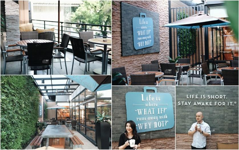 Terrace Side at Caribou Coffee Senopati by Myfunfoodiary