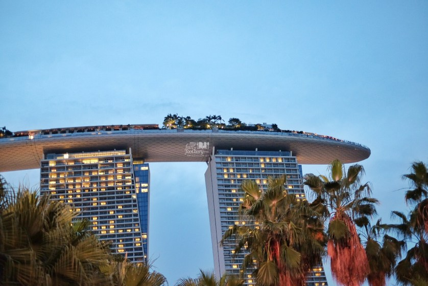 View to Marina Bay Sands from Gardens By The Bay by Myfunfoodiary