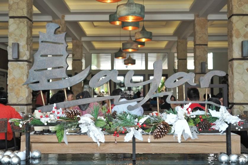 Layar Sign inside the resto at Layar Seafood Jakarta by Myfunfoodiary