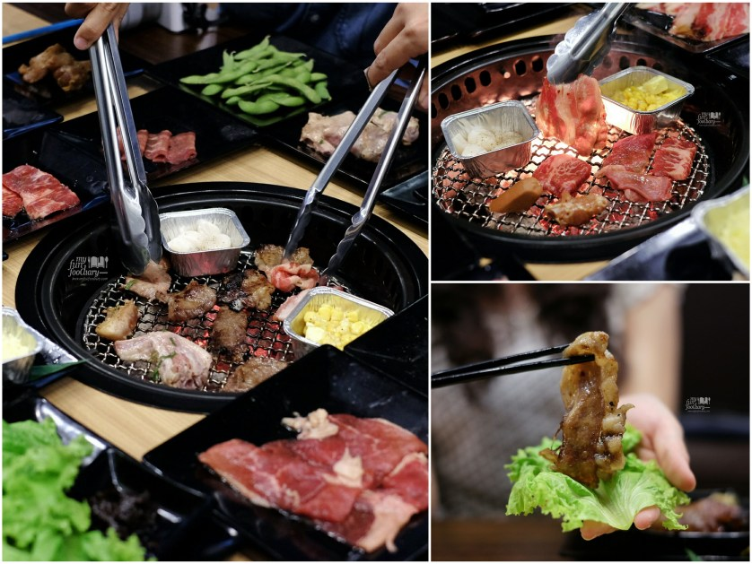 Japanese Grill BBQ at Gyukaku Lippo Mall Puri by Myfunfoodiary