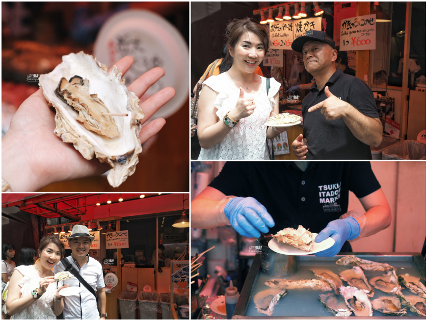 Steam-Oyster-at-Tsukiji-Market-by-Myfunfoodiary