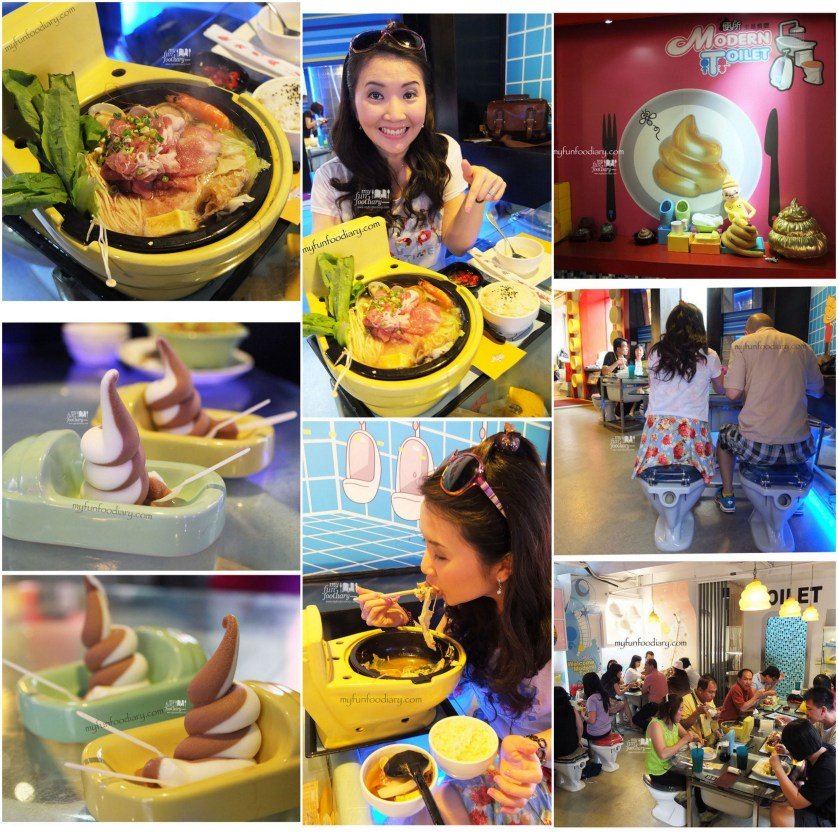 Toilet Cafe at Taiwan by Myfunfoodiary