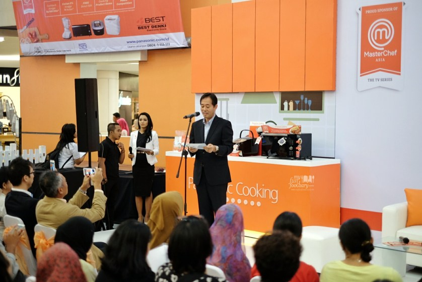 Welcome Speech at Panasonic Cooking by Myfunfoodiary