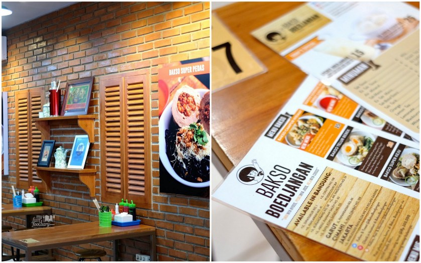 Classic Natural Wood ambiance at Bakso Boedjangan by Myfunfoodiary