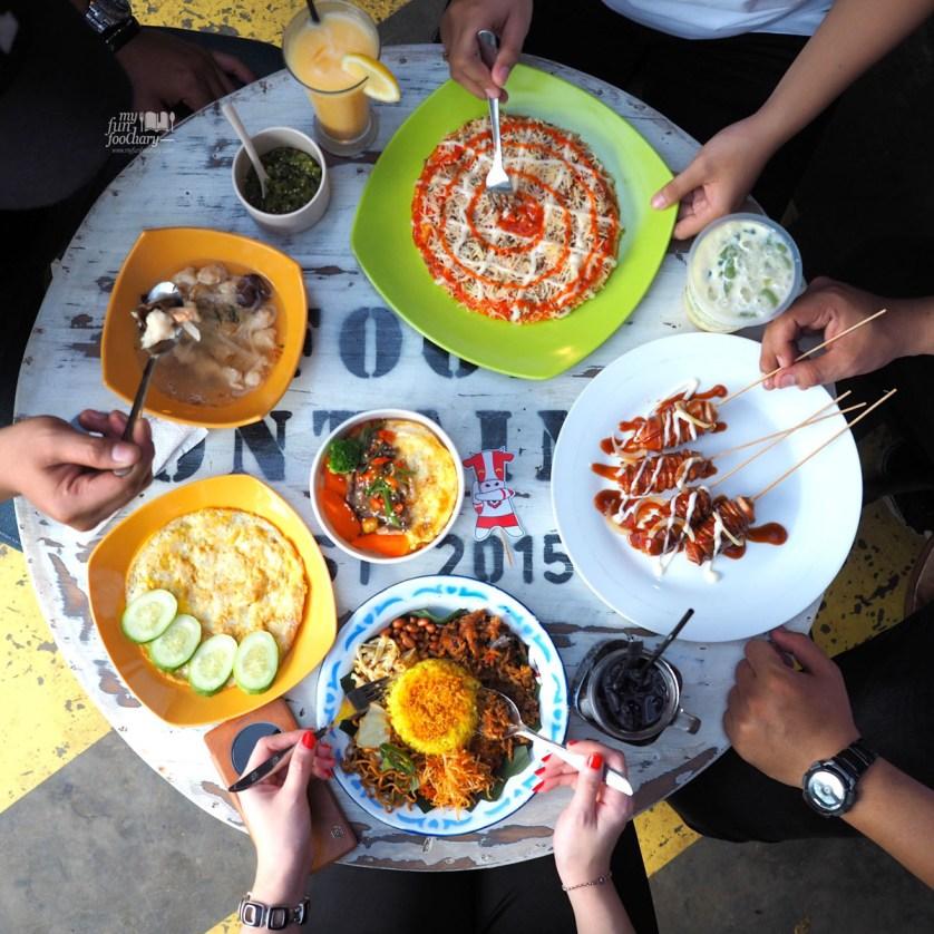 Pempek Lenggang dan Pasta Kangen at Food Container by Myfunfoodiary rev