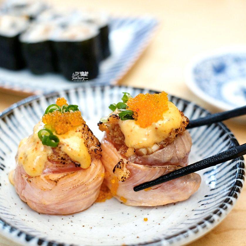 Salmon Hana Roll at Nama Sushi by Myfunfoodiaryedit