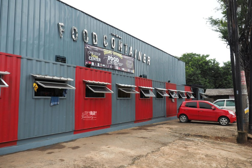 Tampak Depan Food Container Lebak Bulus by Myfunfoodiary rev