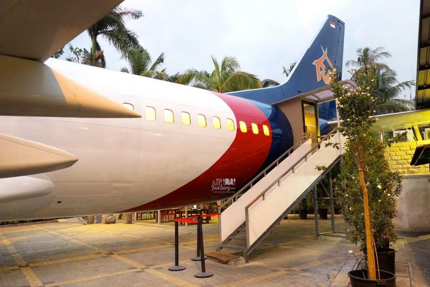 Tampak Pesawat Back End at Taman Santap Rumah Kayu Ancol by Myfunfoodiary