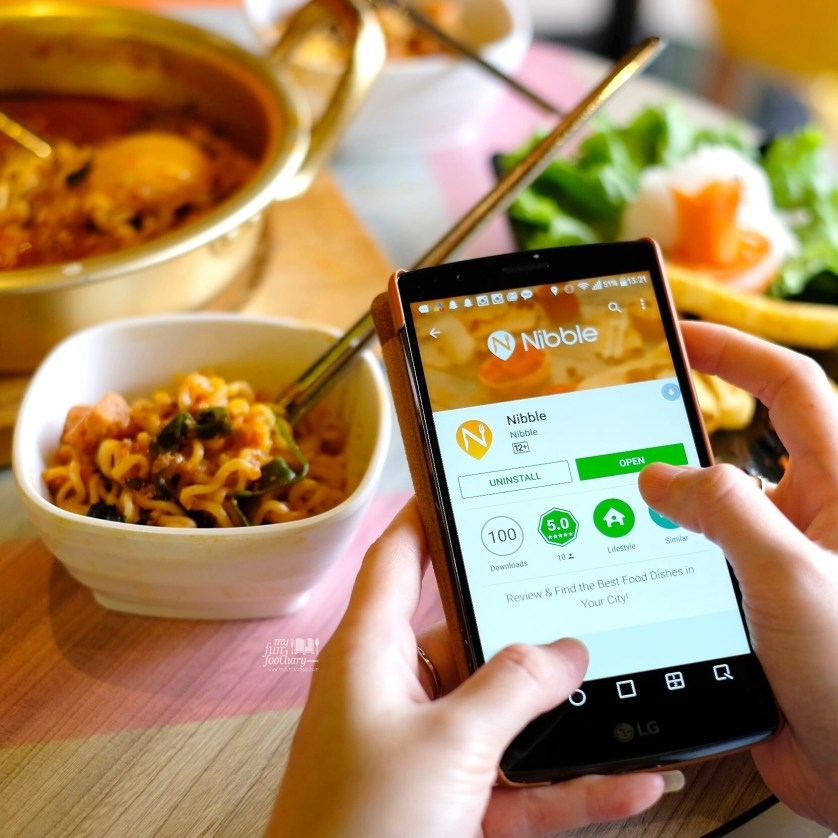 Awareness for Nibble Apps