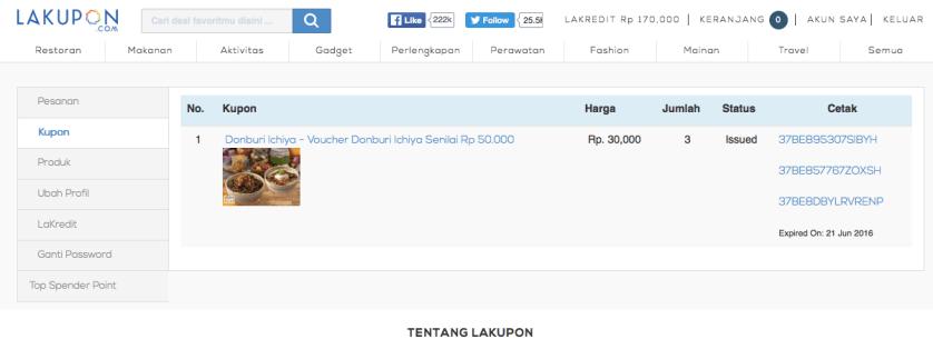 LaKupon Deals - Donburi Ichiya Vouchers - by Myfunfoodiary
