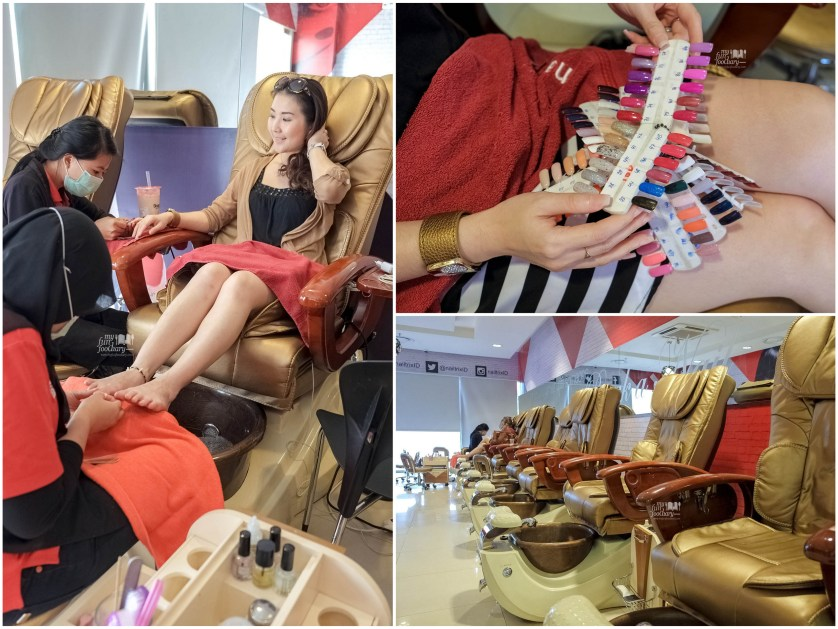 Comfy Nail Salon at Nail Trix Kelapa Gading by Myfunfoodiary