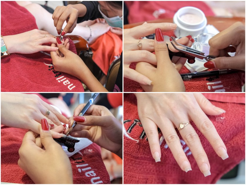 Nail Treatment at Nail Trix Kelapa Gading by Myfunfoodiary