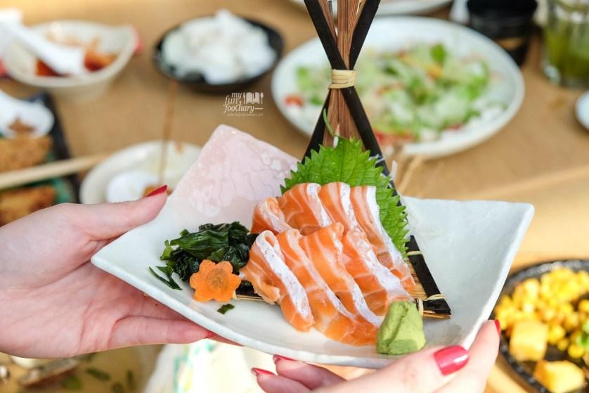 Salmon Belly at Tsubohachi PIK by Myfunfoodiary