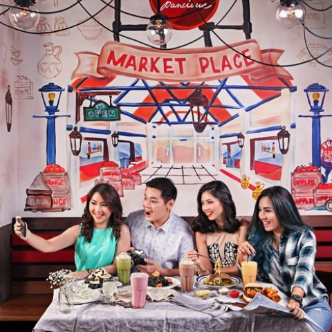 Pancious Indonesia - New Menu Collaboration for 6 months