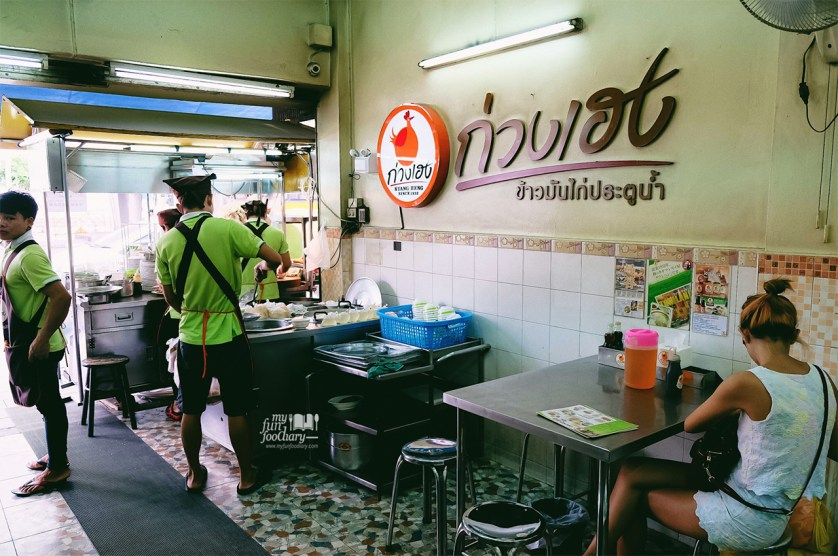Thailand Bangkok Best Chicken Rice Kuang Heng Vs Go Ang