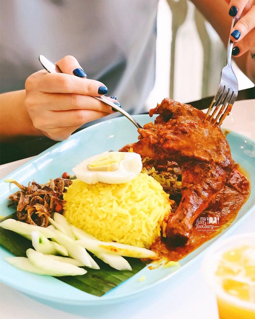 Nasi Lemak Rendang at Jom Makan Sky Avenue Genting Highlands by Myfunfoodiary