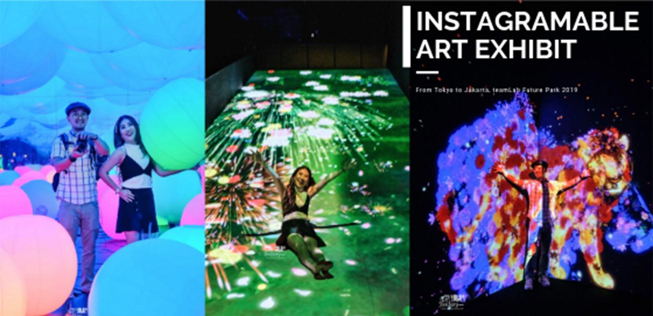 teamLab Future Park Instagramable Digital Art in Gandaria City