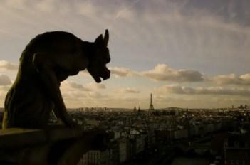 beautiful paris skyline