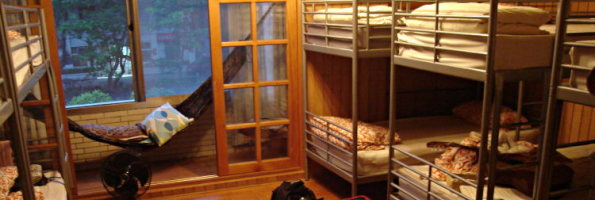 dorm in hostel