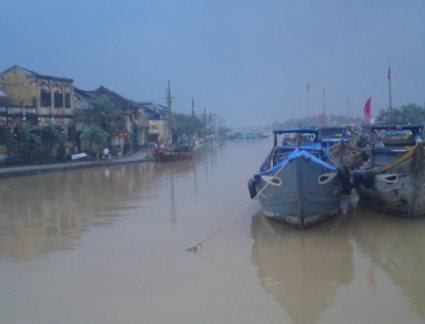 Hoi An river boat