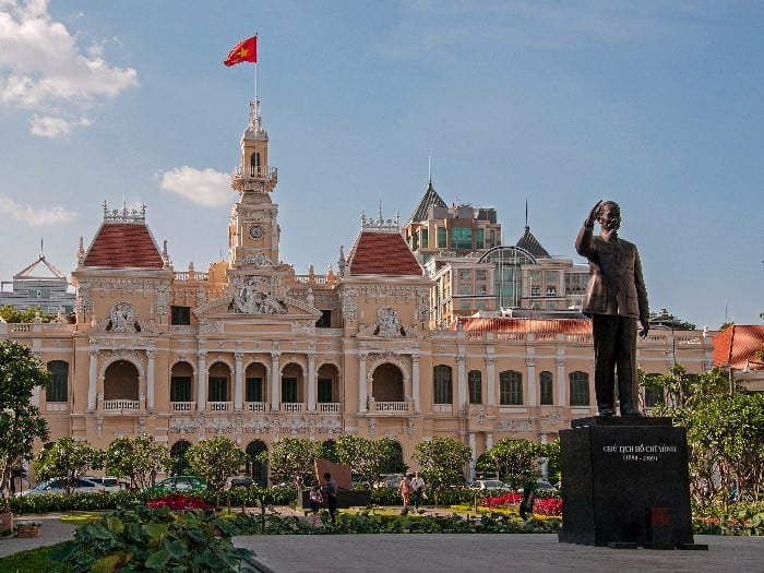 Travel itinerary for Vietnam