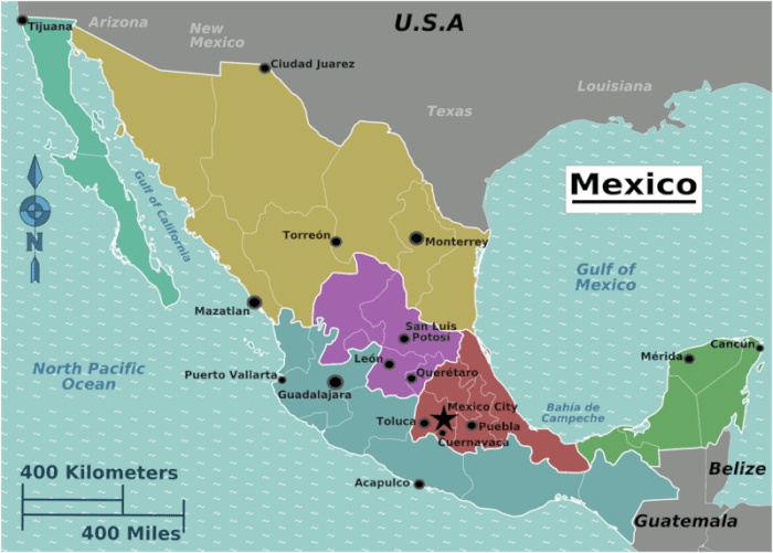 Mexico backpacking budget
