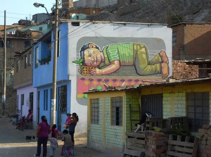 street art in Peru