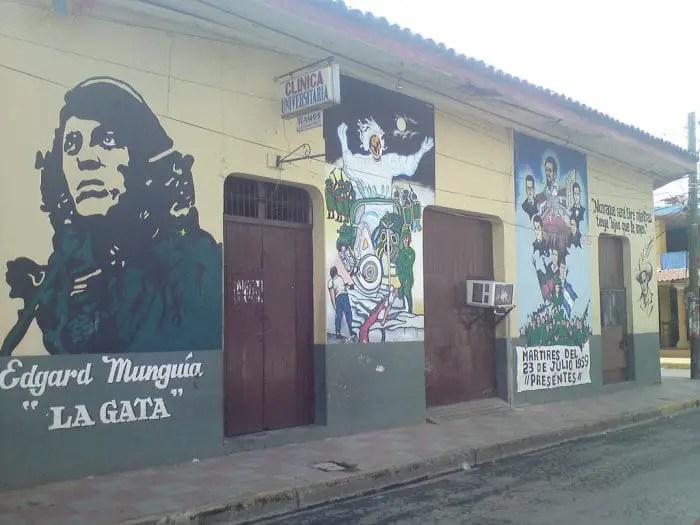Street art in Nicaragua