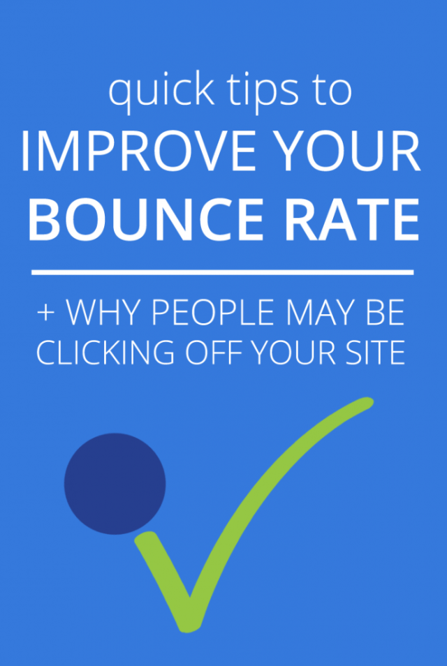 IMPROVE YOUR BOUNCE RATE  FUSED