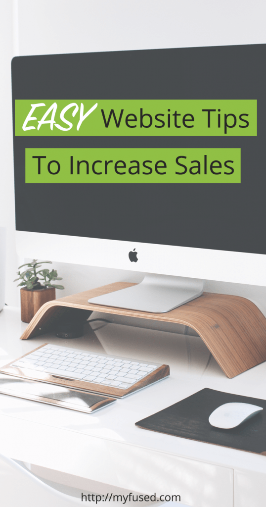 How to make more sales on a website homepage | FUSED