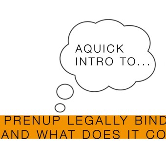 Video: Pre nuptial agreements (video 2 of 2)